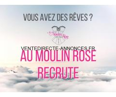 Au Moulin Rose recrute !